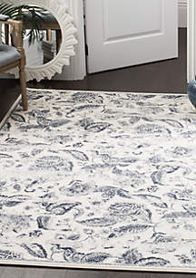 Carnegie Cream/Light Gray Area Rug