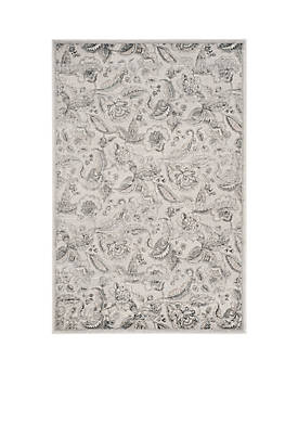 Carnegie Silver/Gray 2-ft. 3-in. x 8-ft. Area Rug