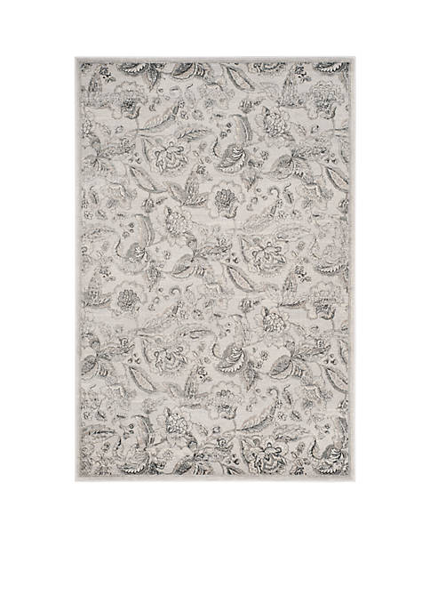 Safavieh Carnegie Silver/Gray 2-ft. 3-in. x 8-ft. Area