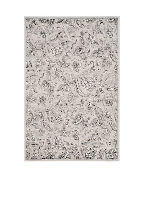 Safavieh Carnegie Silver/Gray 3-ft. x 5-ft. Area Rug