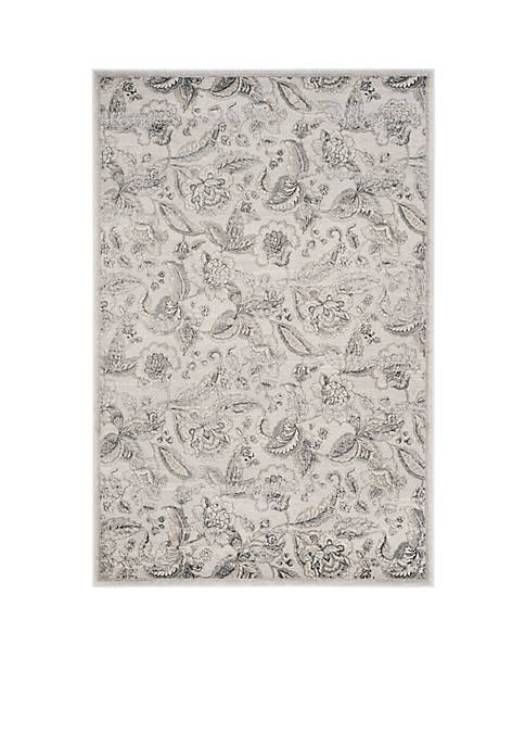 Safavieh Carnegie Silver/Gray Area Rug 4-ft. x 6-ft.