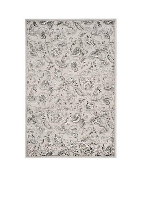 Safavieh Carnegie Silver/Gray Area Rug 4-ft. x 6-ft.