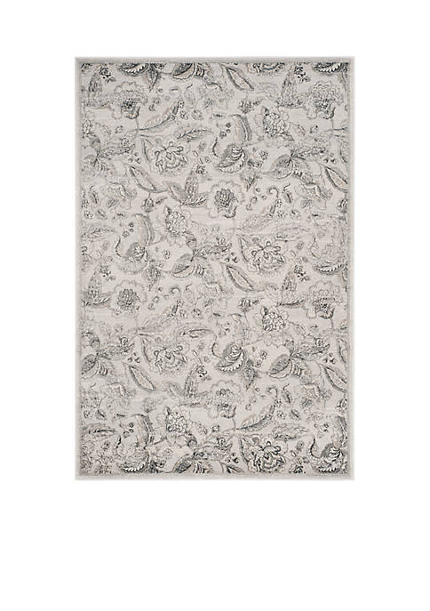Safavieh Carnegie Silver/Gray Area Rug 6-ft. 7-in. x