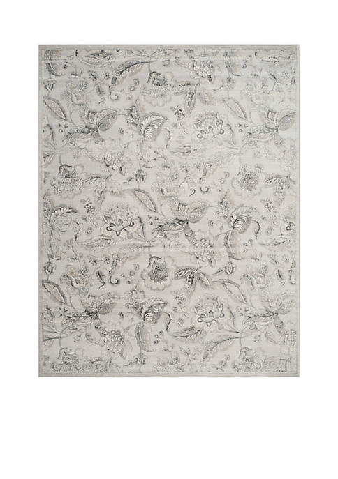 Safavieh Carnegie Silver/Gray 8-ft. x 10-ft. Area Rug