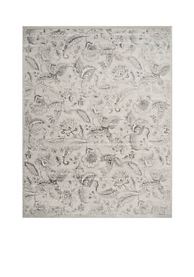 Carnegie Silver/Gray 9-ft. x 12-ft. Area Rug