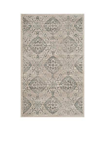 Safavieh Carnegie Taupe/Light Blue 5-ft. 1-in. x 7-ft. 6-in. Area Rug