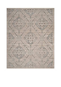 Safavieh Carnegie Taupe/Light Blue 6-ft. 7-in. x 9-ft. 2-in. Area Rug