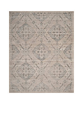 Carnegie Taupe/Light Blue 9-ft. x 12-ft. Area Rug