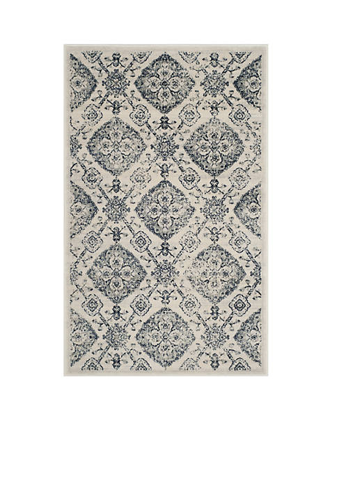 Safavieh Carnegie Cream/Light Gray Area Rug 3-ft. x