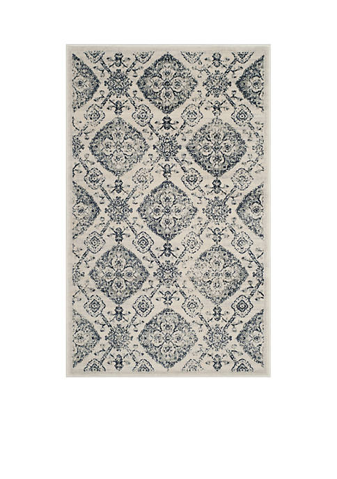 Safavieh Carnegie Cream/Light Gray Area Rug 8-ft. x