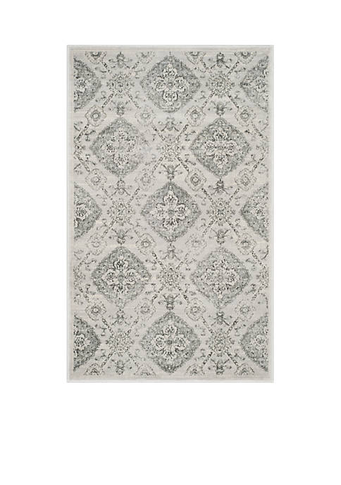 Carnegie Silver / Grey Area Rug 3-ft. x 5-ft.
