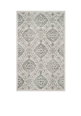 Carnegie Silver / Grey Area Rug 4-ft. x 6-ft.