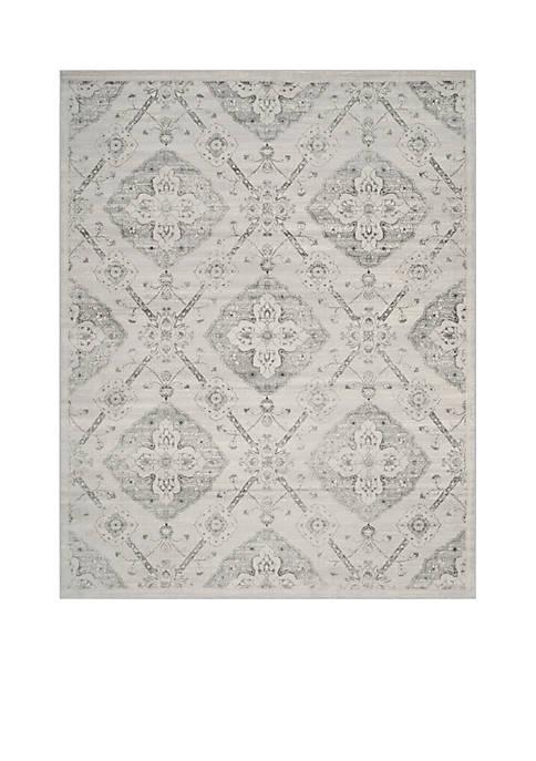 Safavieh Carnegie Silver/Gray Area Rug 6-ft. 7-in. x