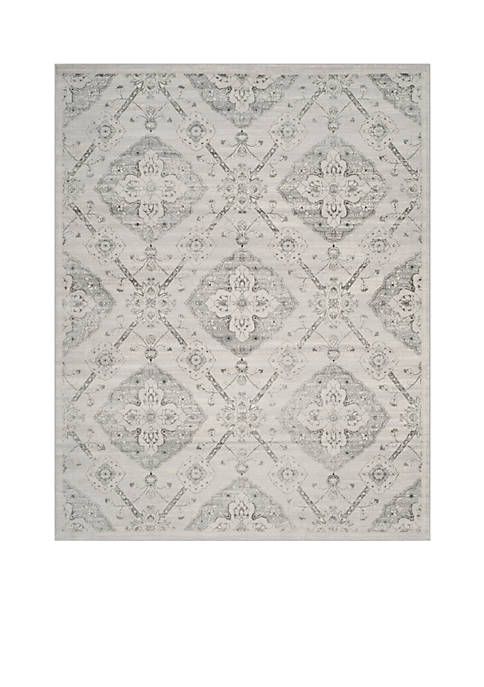 Safavieh Carnegie Silver/Gray Area Rug 8-ft. x 10-ft.