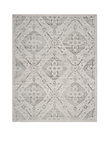 Carnegie Silver/Gray Area Rug 8-ft. x 10-ft.