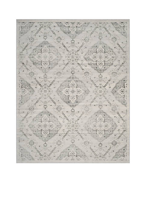 Safavieh Carnegie Silver/Gray Area Rug 9-ft. x 12-ft.