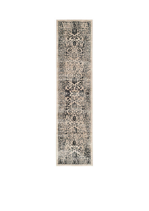 Safavieh Evoke Beige/Blue Area Rug 2-ft. x 8-ft.