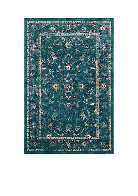Safavieh Evoke Turquoise / Beige Area Rug 5-ft.