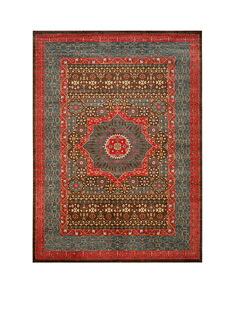 Safavieh Mahal Navy/Red Area Rug
