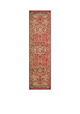 Mahal Natural/Navy Area Rug 2-ft. 2-in. x 8-ft.