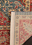 Mahal Natural/Navy Area Rug 4-ft. x 5-ft. 7-in.
