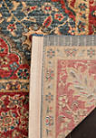 Mahal Natural/Navy Area Rug 5-ft. 1-in. x 7-ft. 7-in.