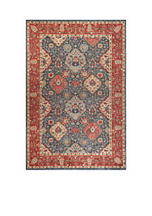 Mahal Navy/Red Area Rug 3-ft. x 5-ft.