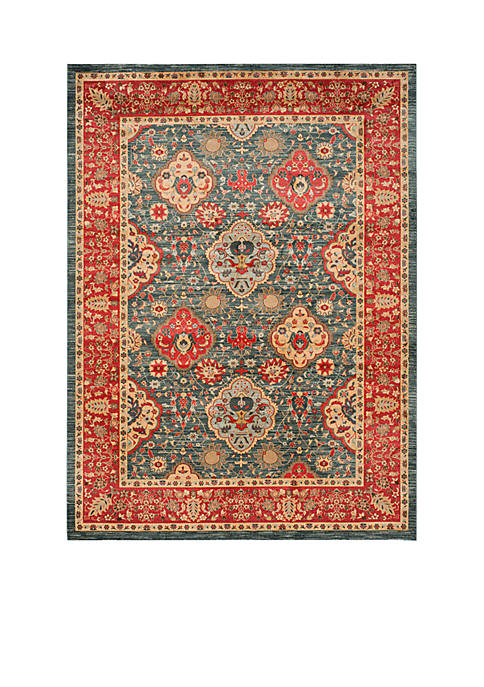 Safavieh Mahal Navy/Red Area Rug 8-ft. x 11-ft.