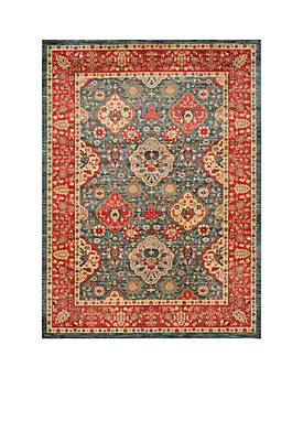 Mahal Navy/Red Area Rug  9-ft. x 12-ft.