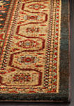 Mahal Navy/Natural Area Rug 2-ft. 2-in. x 4-ft.