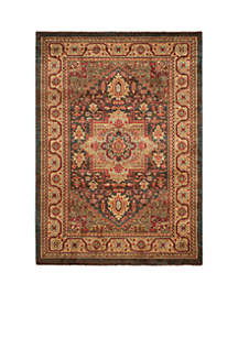 Mahal Navy/Natural Area Rug 3-ft. x 5-ft.