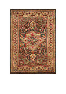 Mahal Navy/Natural Area Rug 4-ft. x 5-ft. 7-in.