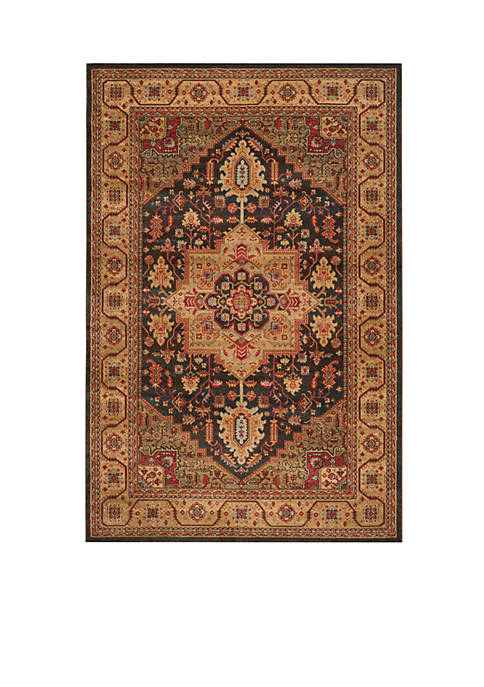 Safavieh Mahal Navy/Natural Area Rug 5-ft. 1-in. x