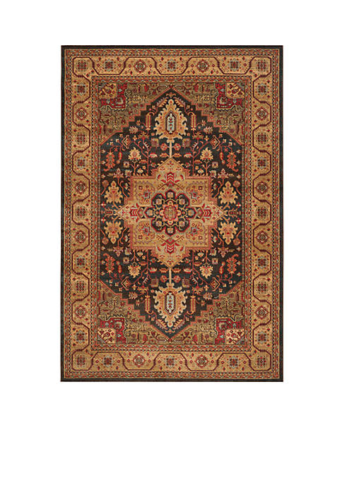 Safavieh Mahal Navy/Natural Area Rug 6-ft. 7-in. x