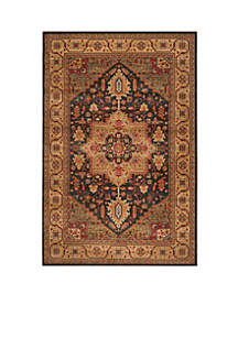 Mahal Navy/Natural Area Rug 6-ft. 7-in. x 9-ft. 2-in.