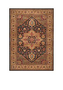 Mahal Navy/Natural Area Rug  8-ft. x 11-ft.