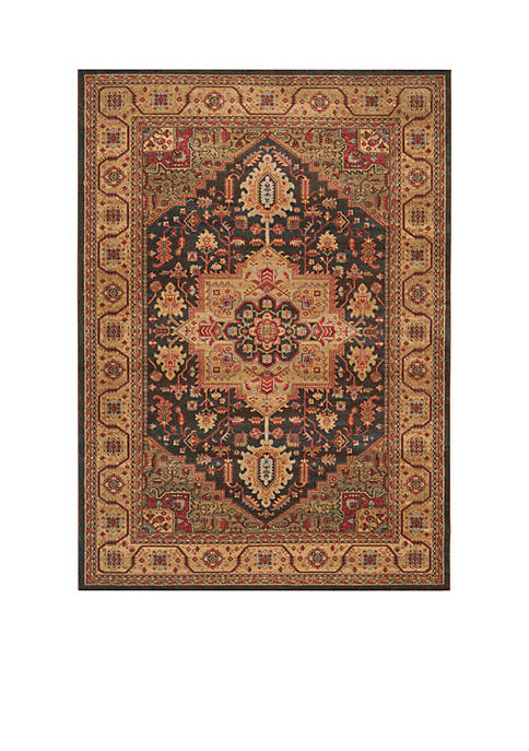 Safavieh Mahal Navy/Natural Area Rug 9-ft. x 12-ft.