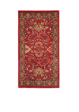 Mahal Red/Navy Area Rug 2-ft. 2-in. x 4-ft.