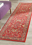 Mahal Red/Navy Area Rug 2-ft. 2-in. x 6-ft.