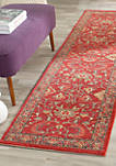 Mahal Red/Navy Area Rug 2-ft. 2-in. x 8-ft.