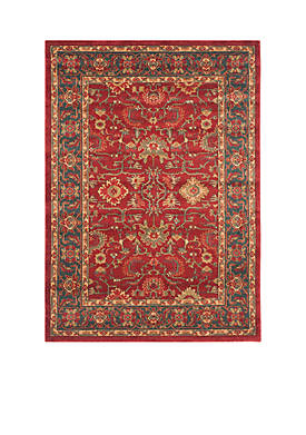 Mahal Red/Navy Area Rug 3-ft. x 5-ft.