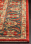 Mahal Red/Navy Area Rug 6-ft. 7-in. x 9-ft. 2-in.