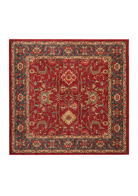 Safavieh Mahal Red/Navy Area Rug 6-ft. 7-in. x