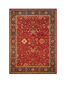 Mahal Red/Navy Area Rug 8-ft. x 11-ft.