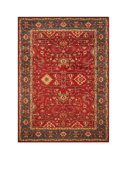 Safavieh Mahal Red/Navy Area Rug 9-ft. x 12-ft.