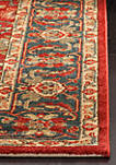 Mahal Red/Navy Area Rug 9-ft. x 12-ft.
