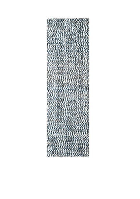 Safavieh Natural Fiber Blue/Ivory Area Rug 2-ft. 6-in.