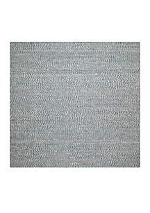 Safavieh Natural Fiber Blue/Ivory Area Rug 4-ft. x 4-ft.