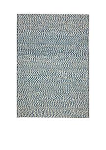 Safavieh Natural Fiber Blue/Ivory Area Rug 4-ft. x 6-ft.