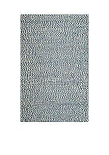 Safavieh Natural Fiber Blue/Ivory Area Rug 5-ft. x 8-ft.